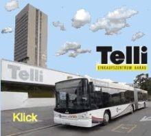Webseite Einkaufszentrum Telli